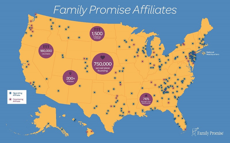 Family Promise Map 800