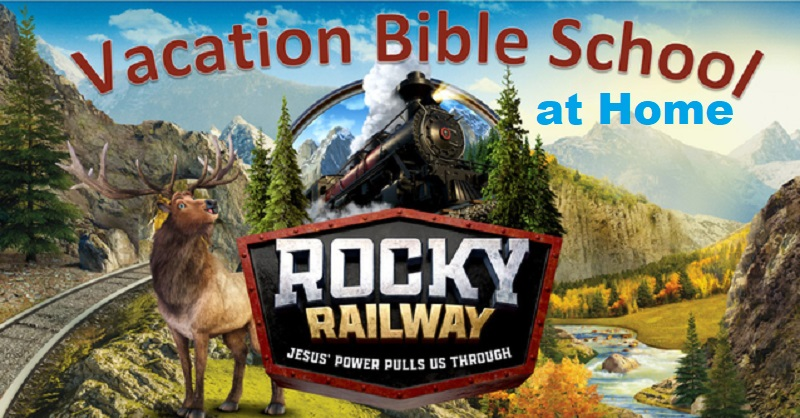 VBS Rocky Railway 2020 website banner 800 at Home